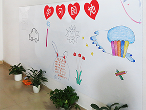 Primary School Interior Kids Wall Project