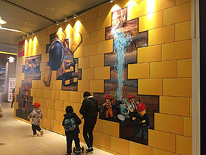 Subway Station Lego Store Advertisement Project